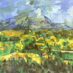 Monte Sainte-Victoire - 1904-1906 - Olio su tela