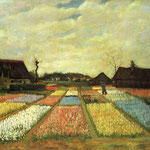 Flower Beds in Holland, 1883