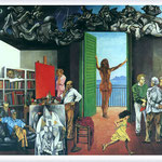 Renato Guttuso - Spes contra Spem, 1982