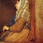 A Roman Beggar Woman, 1857