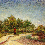 Lane in Voyer d'Argenson Park at Asnieres, 1887