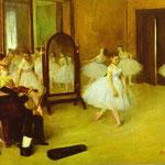 A proposito di Danza Classica - 1871 - Olio su tavola