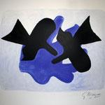 """Pelias and Nelee, 1958"""" (l'Astre et l'oiseau)"""