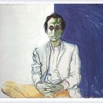 Renato Guttuso - Ritratto di Mario Schifano, 1966