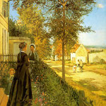 Louveciennes, The Road to Versailles, 1870