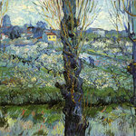 Orchard in Bloom with Poplars, 1889