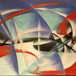 Velocità più paesaggio - 1913