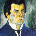Kazimir Malevich - Autoritratto (1908)