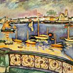 Georges Braque - Porto di Antwerp (1906)