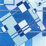 P.R.M.A , 1967, tempera, cm 6,3 x 6,4.