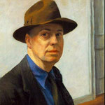 Edward Hopper - Autoritratto