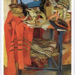 Renato Guttuso - Natura morta con drappo rosso, 1942