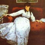 Edouard Manet - Riposo - 1869/1870 - Olio su tela