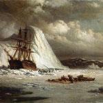 Icebound Ship_