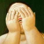 Fernando Botero - Donna piangente (1999)