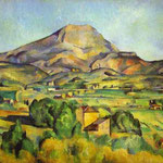 Il Monte Sainte-Victoire - 1885-1895 - Olio su tela