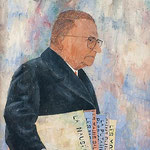 Portrait of Jean-Paul Sartre