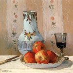 Still Life with Apples and Pitcher, 1872