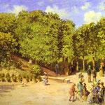 La Città Giardino a Pontoise - 1873 - Olio su tela