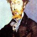 Edouard Manet - Ritratto di George Moore - 1879 - Pastello su carta