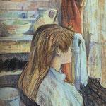 Mujer a la ventana, 1893