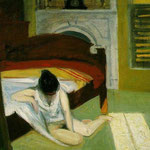 Edward Hopper - Interno d'estate (1909)
