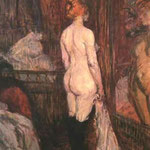 Nude in Front of a Mirror, 1890