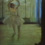 Ballerina al fotografo - 1870 Olio su tela