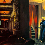 Edward Hopper - Cinema a New York (1939)