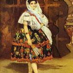 Edouard Manet - Lola di Valencia - 1862 - Olio su tela