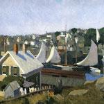 Edward Hopper - Porto di Gloucester (1912)