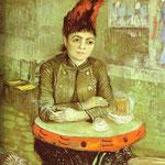 Agostina Segatori al Café du Tambourin - 1887 - Olio su tela