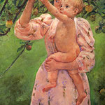 Baby Reaching For An Apple, 1893
