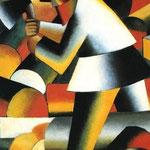 Kazimir Malevich - Tagliaboschi (1912)