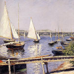 Sailing Boats at Argenteuil, 1885