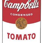 Campbells tomato soup 1962