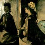 Madame Jeantaud en el espejo