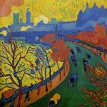 Pont de charing cross - 1906