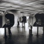 Station RER Les Halles, Paris, 1979