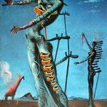Giraffe on Fire, 1936