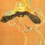 Yvette Guilbert canta -Linger Longer Loo-