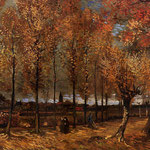 Lane with Poplars, 1885