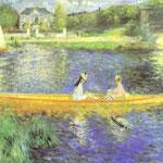 Rive della Senna a Asnieres - 1879 - Olio su tela