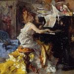 Donna al piano