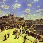 Il Ponte Neuf di Parigi - 1872 - Olio su tela