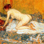 Crouching Woman Red Hair, 1897