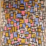 Piet Mondrian - Composizione - 1916 - Olio su tela
