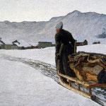 Ritorno dal bosco - 1890