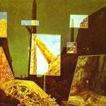 Giorno e notte - 1941-42 - Olio su tela