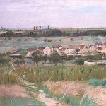 The Village at Maurecourt, 1873